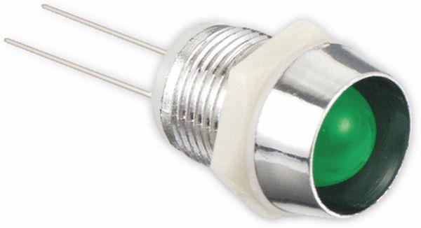 LED-Signalleuchte, Kontrollleuchte, 2,1 V-, grün