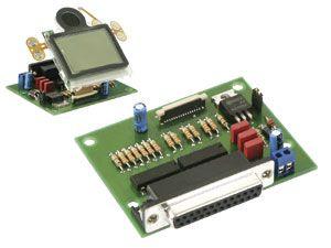 Anschlussplatine für LC-Display LPH7508-1