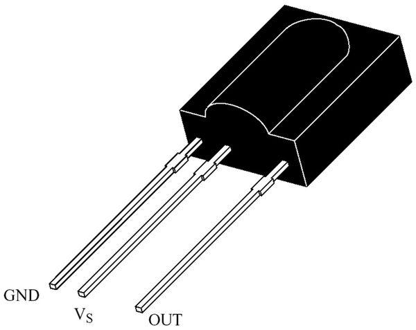 Infrarot-Empfänger TSOP1136