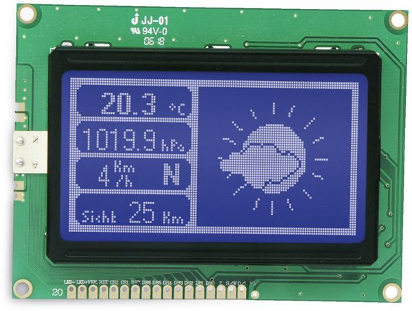 LCD-Modul TG12864B-03