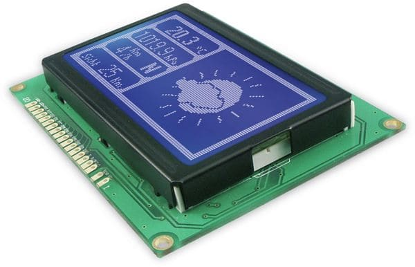 LCD-Modul TG12864B-03 - Produktbild 2