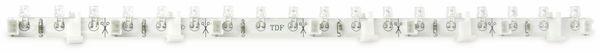 LED-Strip flexibel, 1,5 W, 14,5 lm, 18x rot - Produktbild 1