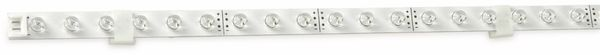 LED-Strip starr, EEK: A, 2,4 W, 40 lm, 30x weiß
