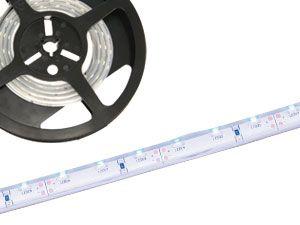 LED-Strip, flexibel, 66x blau, 1 m, ideal als Fuge - Produktbild 1