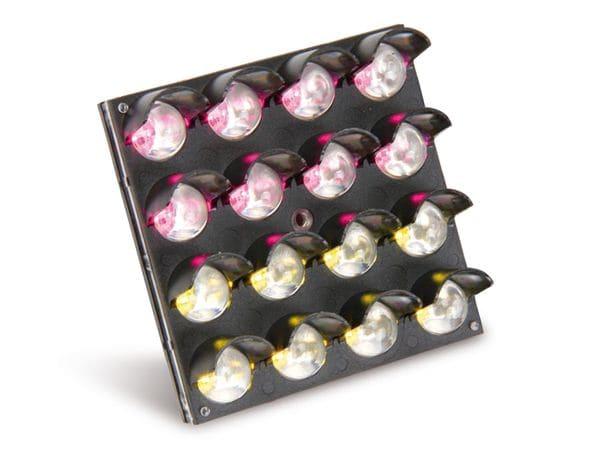 LED-Matrix OPTO-14431EG, rot/grün, 4x4 - Produktbild 2