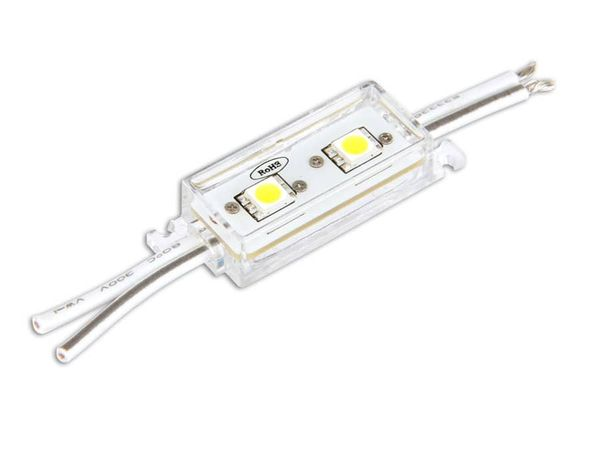 LED-Modul, IP65, 12 V-, warmweiß