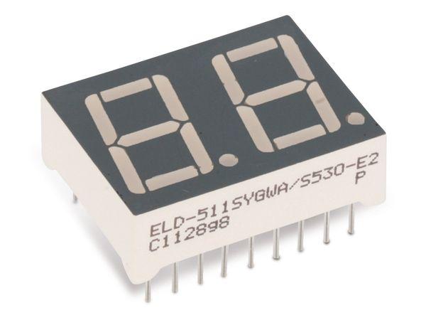 LED-Anzeige EVERLIGHT ELD-511SYGWA/S530-E2 - Produktbild 1