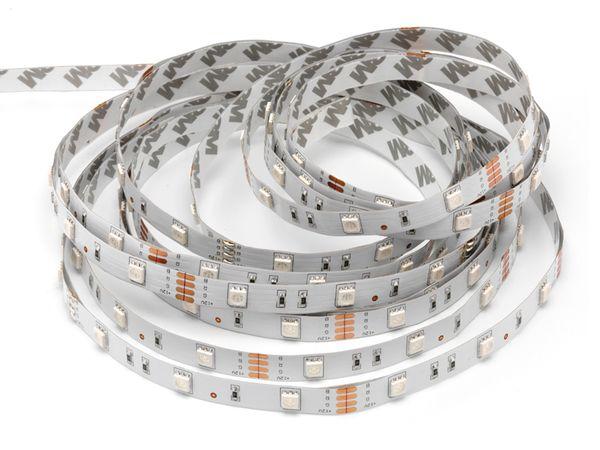 RGB LED Strip 5 m Komplettset DAYLITE LS-150-RGB-5M - Produktbild 1