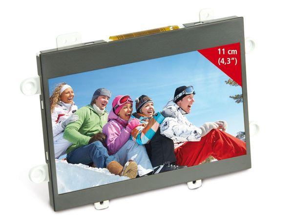 """4,3"""" (10,9 cm) Display-Set JD43T30-C/MEX043TM-40D-HYO-CO, CVBS - Produktbild 2"""