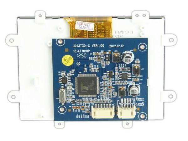 """4,3"""" (10,9 cm) Display-Set JD43T30-C/MEX043TM-40D-HYO-CO, CVBS - Produktbild 3"""