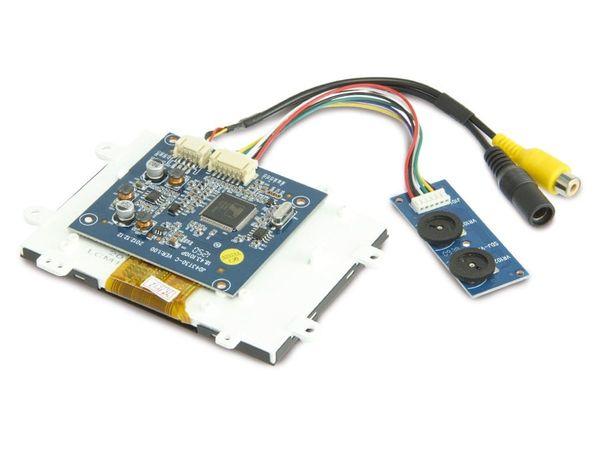 """4,3"""" (10,9 cm) Display-Set JD43T30-C/MEX043TM-40D-HYO-CO, CVBS - Produktbild 4"""