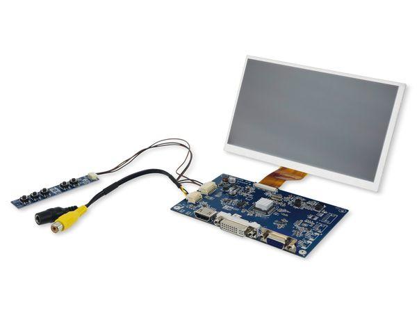 """7"""" (17,78 cm) Display-Set LS-7, HDMI/DVI/VGA/CVBS"""