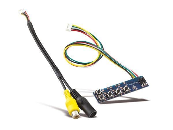 "7"" (17,78 cm) Display-Set LS-7, HDMI/DVI/VGA/CVBS - Produktbild 4"