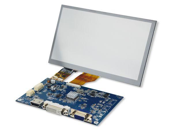 "7"" (17,78 cm) Display-Set mit Touchscreen LS-7T, HDMI/DVI/VGA/CVBS - Produktbild 2"