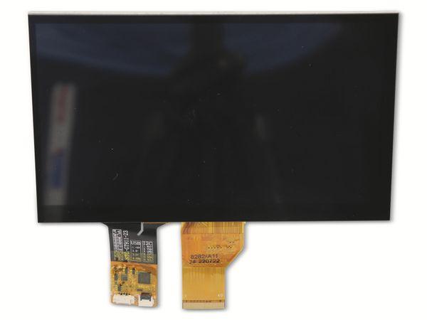 "7"" (17,78 cm) Display-Set mit Touchscreen LS-7T, HDMI/DVI/VGA/CVBS - Produktbild 3"