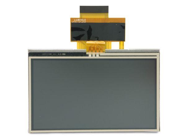 "LCD-Modul DISPLAYTECH DT043BTFT-TS, 4,3"", 480x272, Touch"