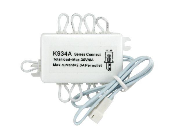 LED-Verteilerbaustein K934A, 10-fach (seriell)