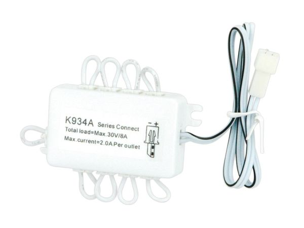 LED-Verteilerbaustein K934A, 10-fach (seriell) - Produktbild 2