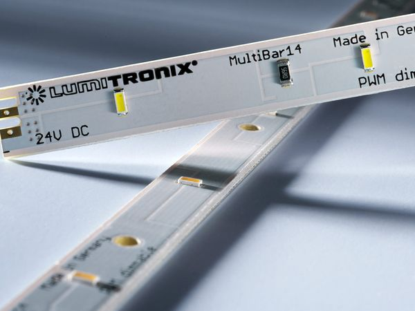 LED-Leiste LUMITRONIX MultiBar14, 24 V-, 14 LEDs, 100 lm, weiß - Produktbild 1