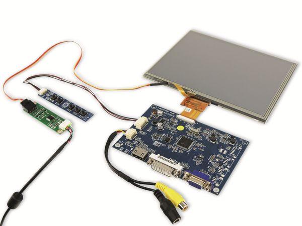 "20,3 cm (8"") Display-Set mit Touchscreen LS-8T, HDMI/DVI/VGA/CVBS - Produktbild 2"
