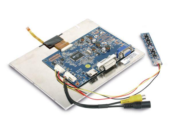 "20,3 cm (8"") Display-Set mit Touchscreen LS-8T, HDMI/DVI/VGA/CVBS - Produktbild 6"