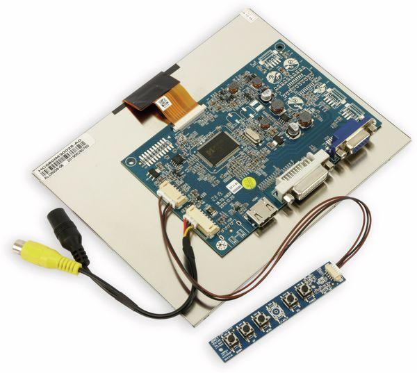 "20,3 cm (8"") Display-Set LS-8, HDMI/DVI/VGA/CVBS - Produktbild 5"