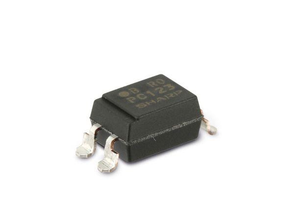 Optokoppler SHARP PC123P2, 10 Stück