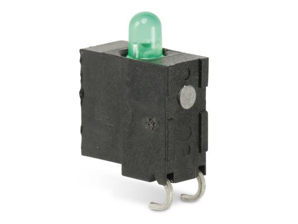 LEDs mit Sockel, grün, 10 Stück