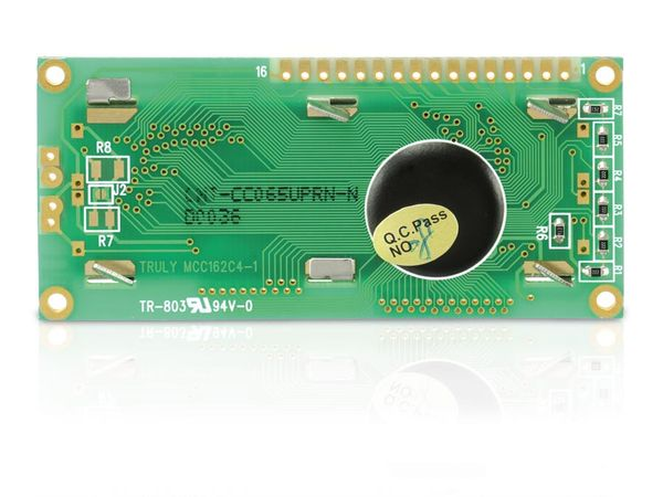 LCD-Modul TRULY MCC162C4-1, 16x2 - Produktbild 2