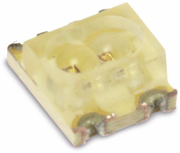 SMD Duo-LEDs SUNLED ZMDKSGK57W-1, rot/grün, 10 Stück