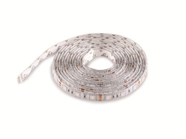 RGB-Silikon-LED-Strip ILUFA 168095, EEK: A, 180 LEDs, 3 m - Produktbild 1