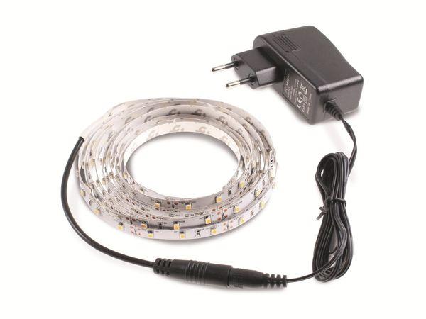 LED-Strip-Set ILUFA 168079, EEK: A, warmweiß, 180 LEDs, 3 m, Netzteil - Produktbild 1