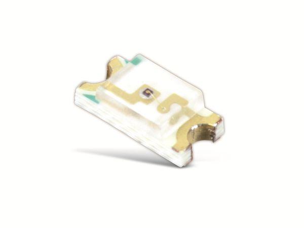 SMD LEDs EVERLIGHT 15-21/Y2C-AN1P2/2T, gelb, 72 mcd, 10 Stück