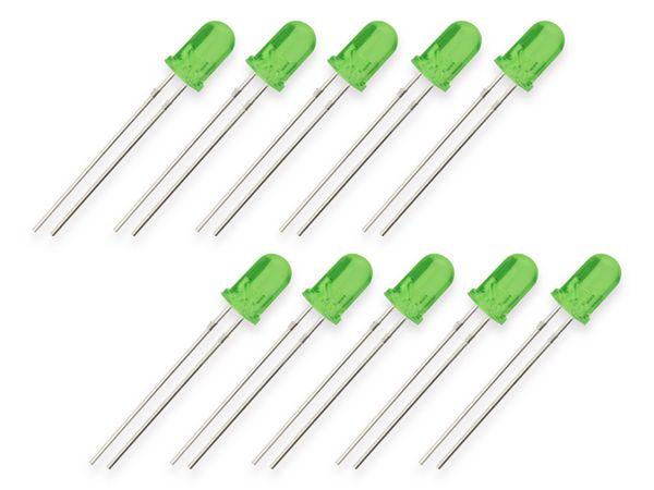 LEDs EVERSTAR ESL-R5044LPGD-R, grün, 5 mm, 10 Stück - Produktbild 2