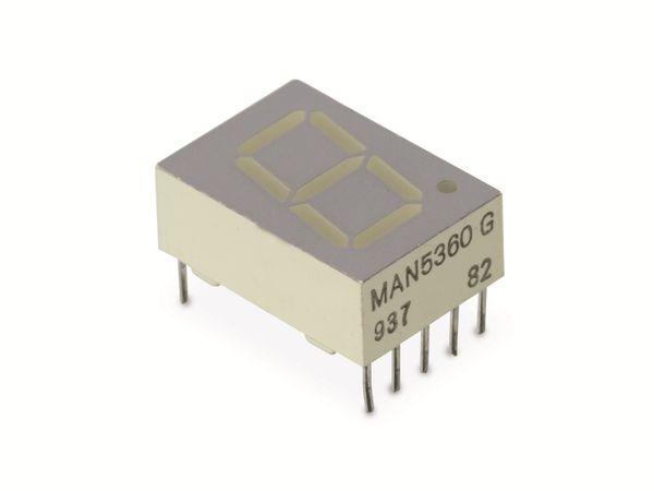 LED-Anzeige MAN5360, gelb, 13 mm