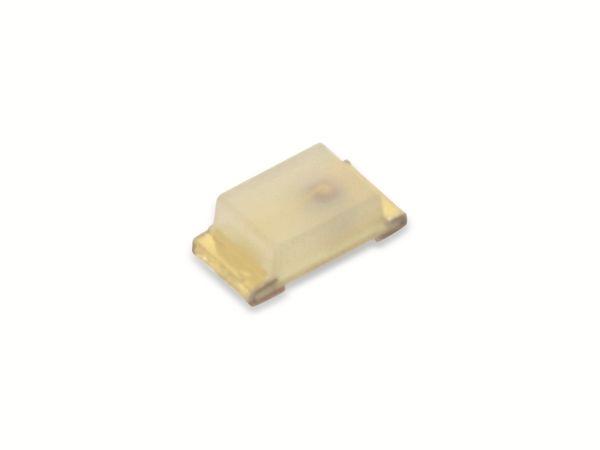 SMD LEDs ROHM SML-512WW, gelb, 63 mcd, 100 Stück