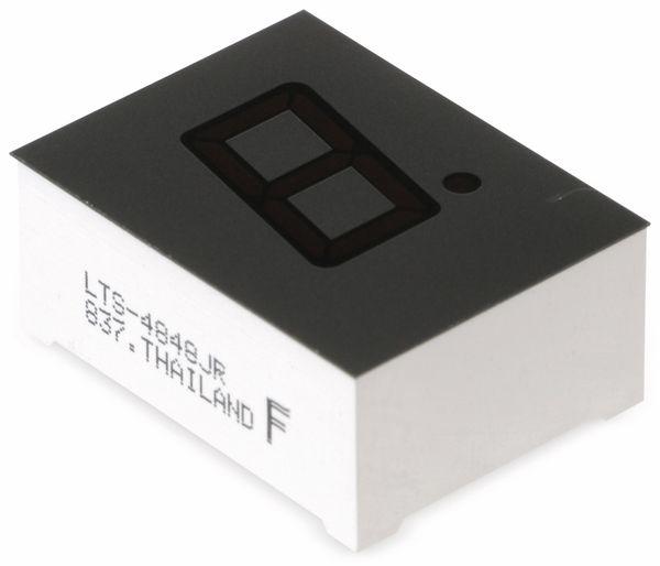 LED-Anzeige LITEON LTS-4848JR, rot, 13 mm - Produktbild 1