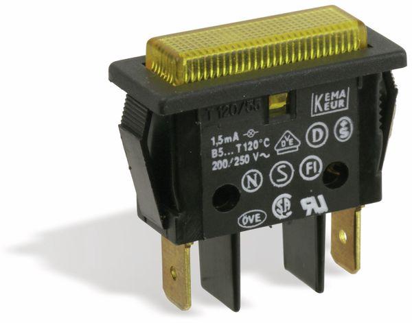 Signalleuchte EVEREL B51121K, 230 V, gelb