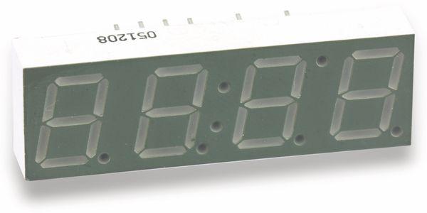 LED-Anzeige SHARLIGHT CM4-040520L, 10 mm, 4 Digit