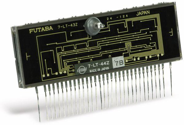 Vakuum-Fluoreszenzdisplay FUTABA 7-LT-44Z, 4 Digit - Produktbild 2