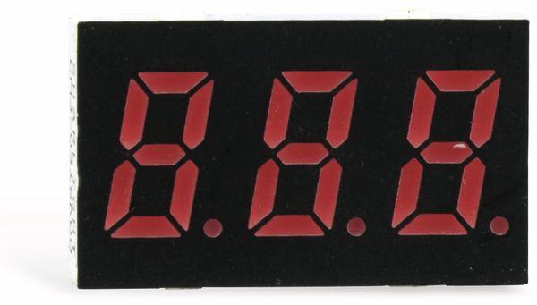 LED-Anzeige SHARLIGHT CM3-0316K00, 8 mm, 3 Digit - Produktbild 2