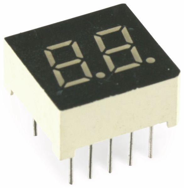 LED-Anzeige LEDTECH LD3052, 7,62 mm, 2 Digit - Produktbild 1