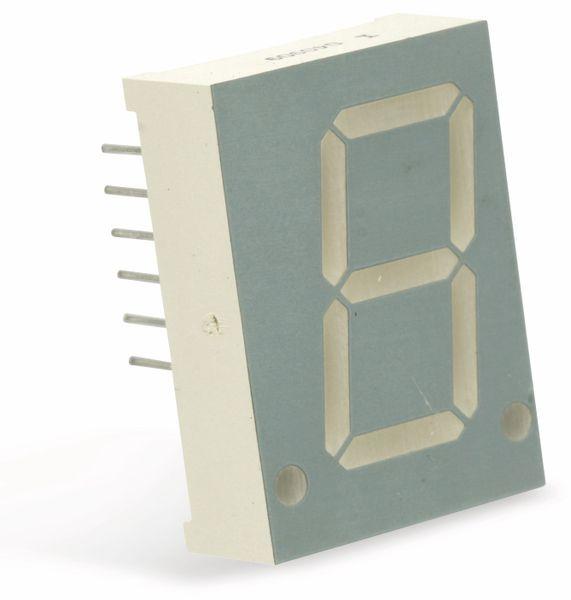 LED-Anzeige SHARLIGHT CM1-080130S, 20,4 mm, 1 Digit - Produktbild 1