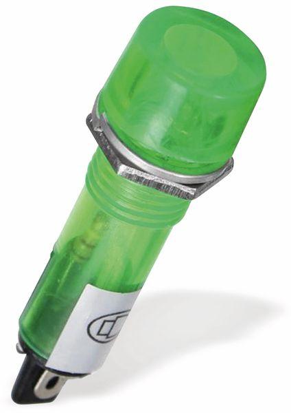 Signalleuchte, Kontrollleuchte Ø 12 mm, 230 V~, grün