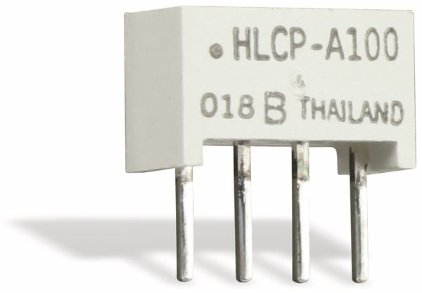 Flächen-LED HLCP-A100, 8,89x3,81 mm, rot