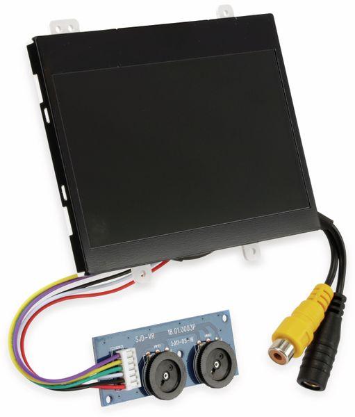 "4,3"" (10,9 cm) Display-Set JD43M06/HSD043-08LH, CVBS"
