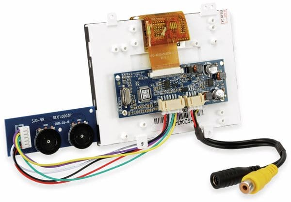"4,3"" (10,9 cm) Display-Set JD43M06/HSD043-08LH, CVBS - Produktbild 3"