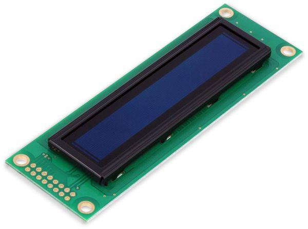 Display OLED, DEP20201-Y, 2x20,116x37x6,5 mm, gelb