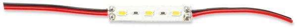 LED-Modul, 50x10mm, warmweiß, 12V-/60 mA, 0,72 W