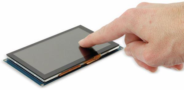 """Touchscreen Display 5"""" für RPi, BBB, PC - Produktbild 3"""